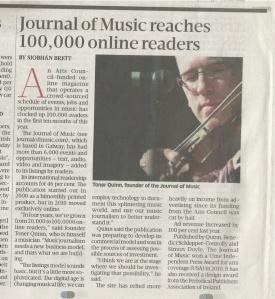 Sunday Business Post 10 Oct 2014